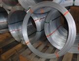 """Hegnstråd stål 2,5 mm. """"stærk"""" galvaniseret 1 x 25 kg."""