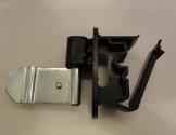 Combi-isolator f/tråd /reb /bånd m/klemme