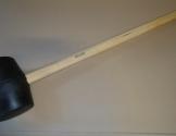 Pælehammer gummi, 4,5 kg.