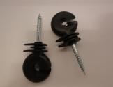 Ringisolator for tråd m.m.