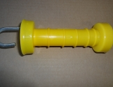 Plastledhåndtag gul.