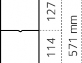 Dyrehegn 0,6 x 50 m. alu/zink