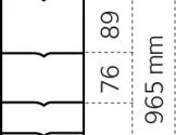 Dyrehegn 1,0 x 50 m. alu/zink