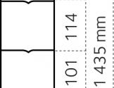 Dyrehegn 1,45 x 50 m. alu/zink