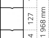 Dyrehegn 2,0 x 50 m. alu/zink