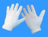 Strikhandske med dots CE 8