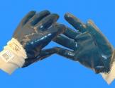 Blue Grip handske, halvdyppet CE 8